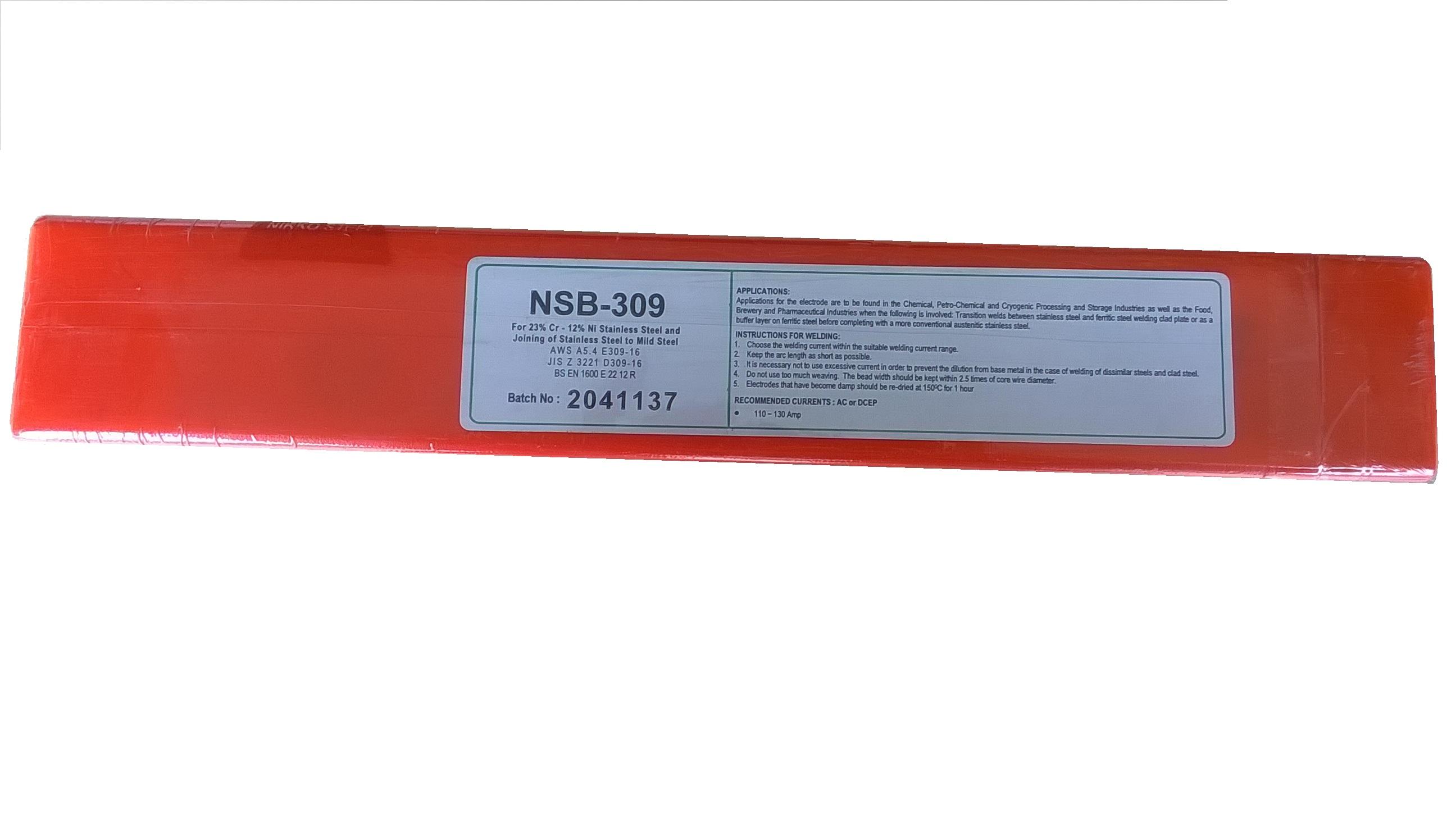 Que hàn inox Nikko NSB-309