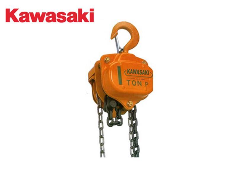 Pa lăng xích kéo tay 0.5 Tấn 3M Kawasaki Nhật Bản